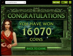 Vi var veldig heldige i denne runden og vant godt 5000,- kroner på bonusen.
